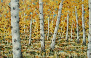 In the Aspens 24x36